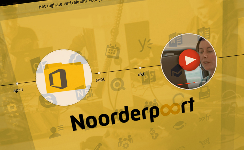 Noorderpoort Intranet | Studio VandenBor, Webdesign en WordPress experts