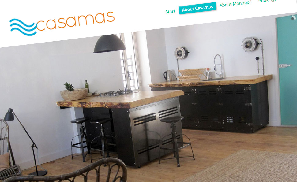 Casamas | Studio VandenBor, Webdesign en WordPress experts