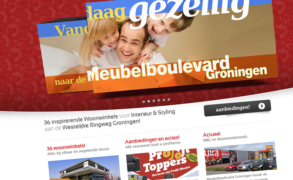 Meubelboulevard Groningen | Studio VandenBor, Webdesign en WordPress experts
